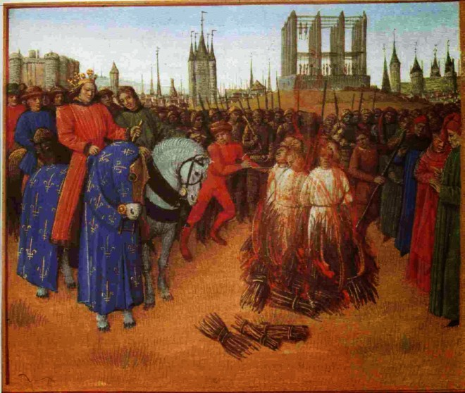 Burning of de Molay